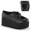 GRIP-02 Black Vegan Leather/Faux Fur
